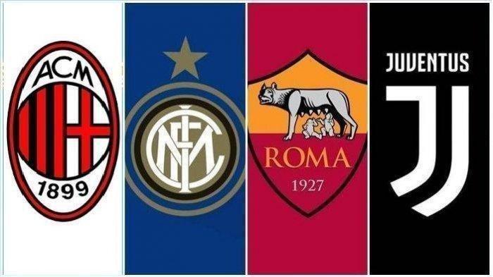 Jadwal Liga Italia Pekan 29 Live Streaming RCTI - Jam Tayang Juventus, Inter Milan, Lazio, AC Milan