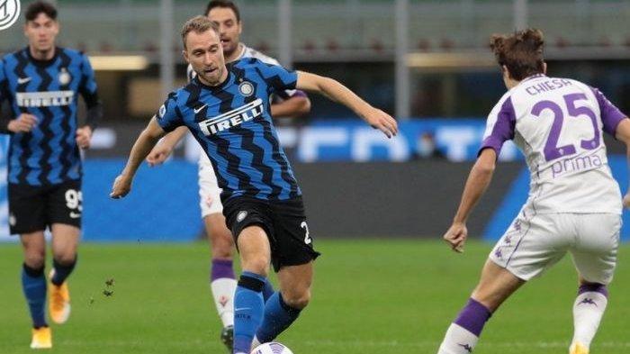 Inter Milan vs Fiorentina, Minggu (27/9/2020) dini hari