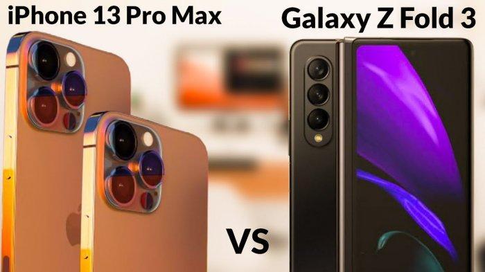 Melihat Perbandingan Desain iPhone 13 dan Samsung Galaxy Z, Pilih Mana?