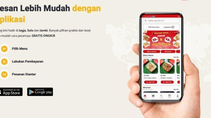 iPiring, Layanan Food Delivery Telah Rambah Jogja, Solo dan Jambi