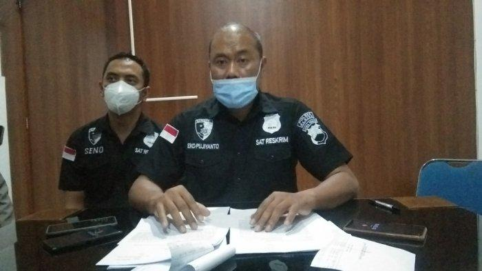 KBO Sat Reskrim Polres Klaten, Iptu Eko Pujiyanto saat ditemui di Mapolres Klaten, Rabu (8/9/2021).