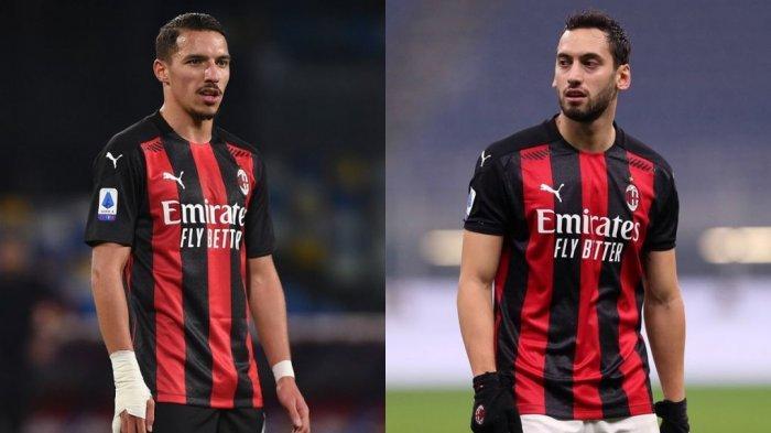 Ismael Bennacer dan Hakan Calhanoglu akan menjadi starter saat Spezia vs AC Milan