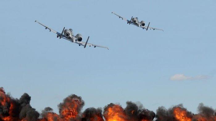 Israel Kerahkan Jet Tempur dan Helikopter Bombardir Pos Militer Milik Hamas di Jalur Gaza