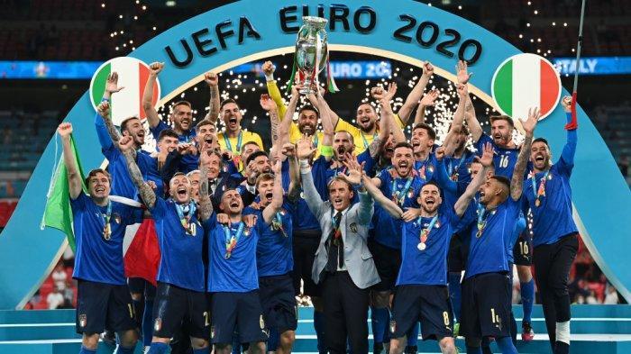 Juara Euro 2020, Italia.