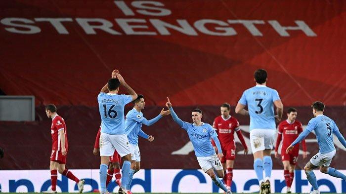 Di Masa Lalu, City Menang Lawan Liverpool di Anfield Saat Foden Masih Umur 2 Tahun
