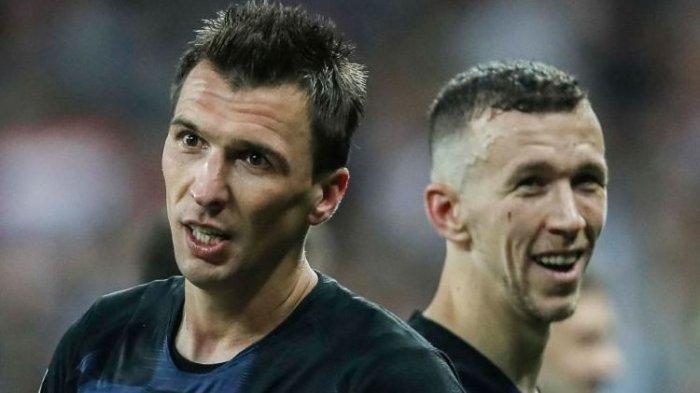 Perisic Pemain Terbaik Semifinal Kroasia vs Inggris