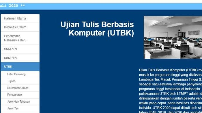 Jadwal Baru Pelaksanaan UTBK SBMPTN 2020, Berikut Penjelasannya LTMPT