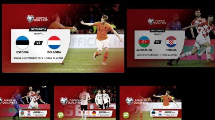 Jadwal Bola Malam Ini via LINK Live Streaming Mola Tv, Ada Kroasia, Jerman dan Belanda