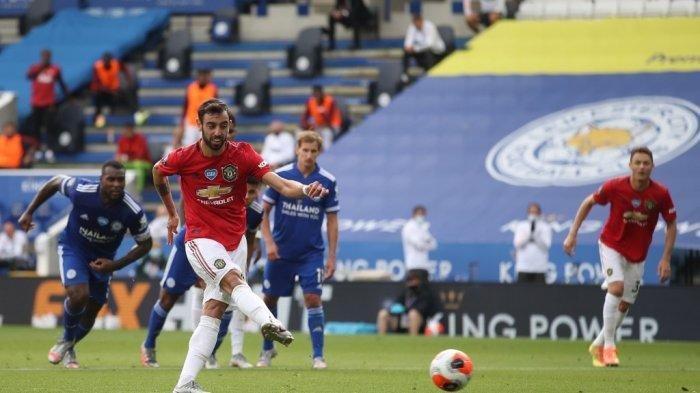 Gelandang Portugal Manchester United, Bruno Fernandes,