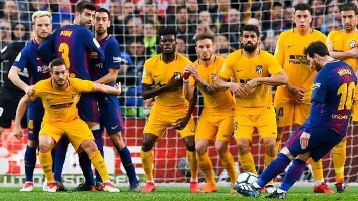 Jadwal & Channel TV Siaran Langsung Liga Spanyol BARCELONA vs ATLETICO dan Real Madrid vs Sevilla