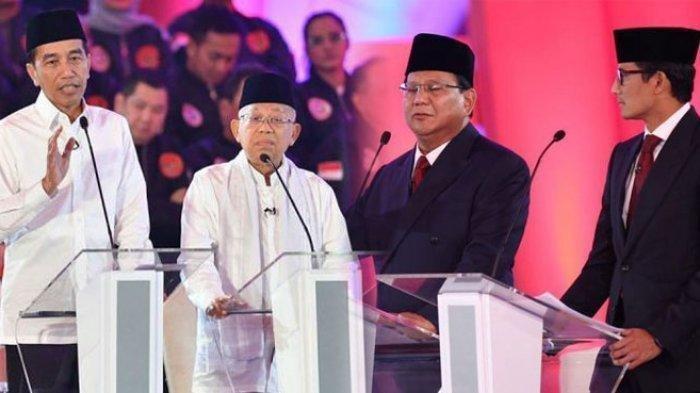 Jadwal Debat Capres 2019 di TV Malam Ini Live Streaming TV one Net TV Beritasatu TV dan Kompas TV
