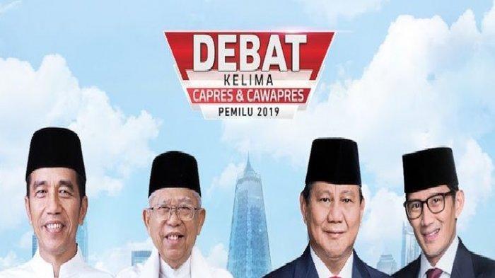 Jadwal Debat Capres 2019 Malam Ini Siaran Langsung dan Live Streaming 4 Stasiun TV