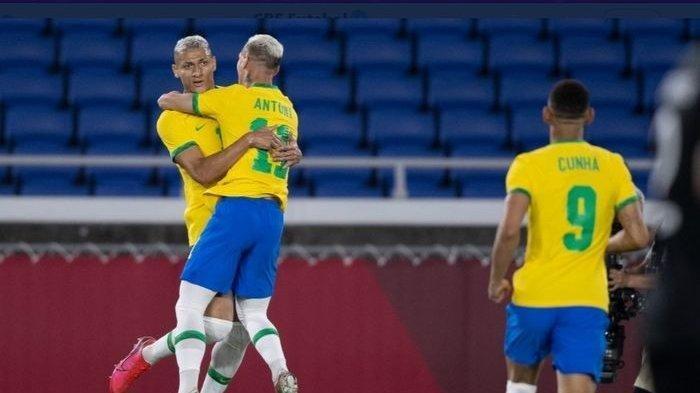 Brasil Pertahankan Gelar Juara Sepak Bola Olimpiade, Raih Medali Emas Setelah Taklukkan Spanyol