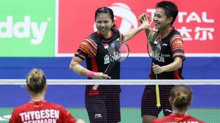 Hasil Drawing Piala Sudirman 2021, Indonesia Masuk Grup C Bersama Denmark, China Grup A