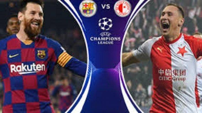 Jadwal Liga Champion Barcelona vs Slavia Praha Tayang Live dan Streaming SCTV, Luis Suarez Cedera