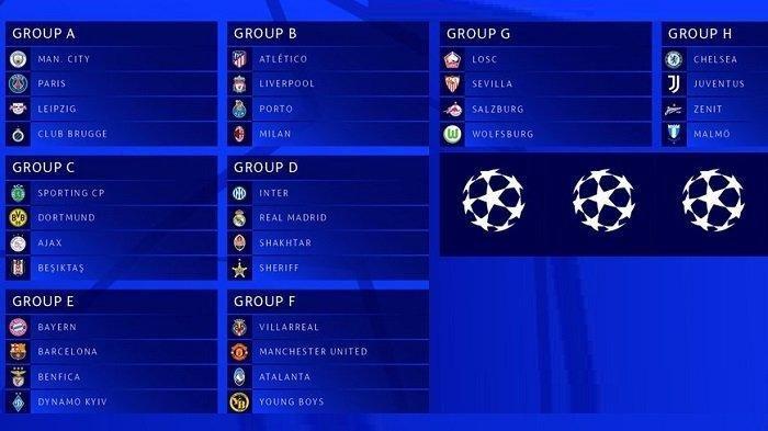 Jadwal Siaran Langsung Fase Grup Liga Champions di TV UEFA: Chelsea, MU, Juventus, AC Milan, Barca