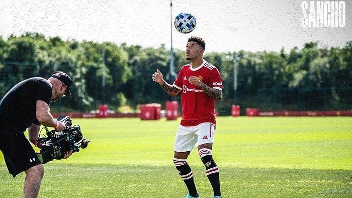 Jadwal Liga Inggris bergulir. Jadon Sancho berpeluang debut bersama MU di laga kontra Leeds