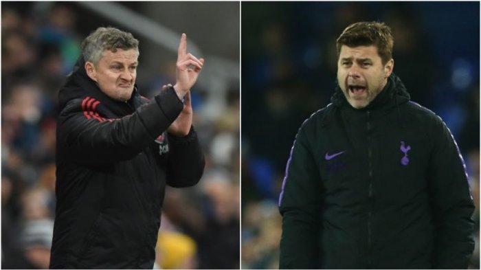 Jadwal Liga Inggris di RCTI Tottenham vs MU, Skuat Terbaik Solskjaer dan Persaingan Kursi Pelatih