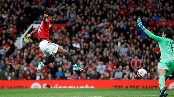 Live Manchester United Mu Vs Paris Saint Germain Psg Gol Rashford Yang Menjengkelkan Tribun Jogja