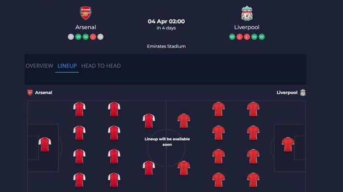 Jadwal Liga Inggris Pekan ke 30, Leicester vs Man City Lanjut Arsenal vs Liverpool
