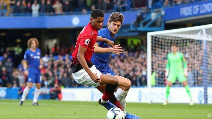 Jadwal Liga Inggris Siaran Langsung dan LINK Live Streaming TVRI Mola Tv - Preview Chelsea vs MU