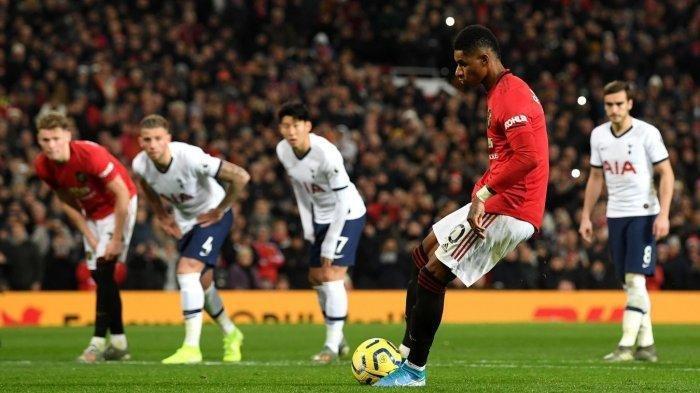 Siaran Langsung Liga Inggris TOTTENHAM Hotspur vs MANCHESTER United di TV Partner - Formasi Line Up