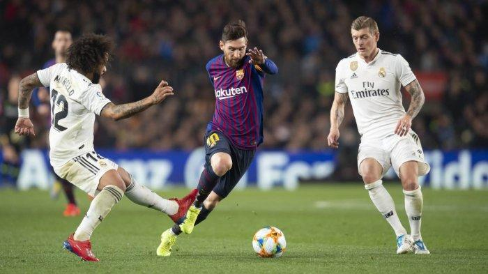 Barcelona vs Real Madrid, El Clasico Liga Spanyol