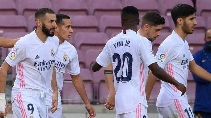 Klasemen La Liga Spanyol Setelah Real Madrid Kalahkan Huesca, Terpaut 7 Poin dari Atletico Madrid