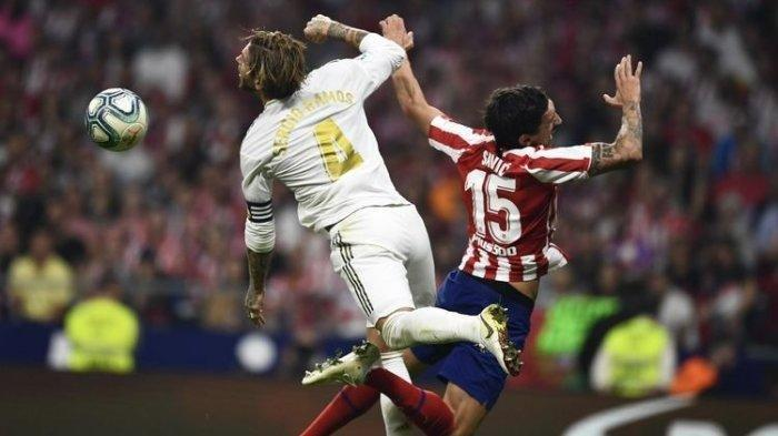 Jadwal Liga Spanyol: Link Streaming La Liga Atletico Madrid vs Real Madrid - Duel Adu Gengsi