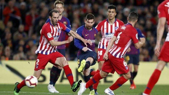 LIVE STREAMING beIN SPORTS 1 Atletico Madrid vs Barcelona Big Match La Liga Spanyol Pekan 10