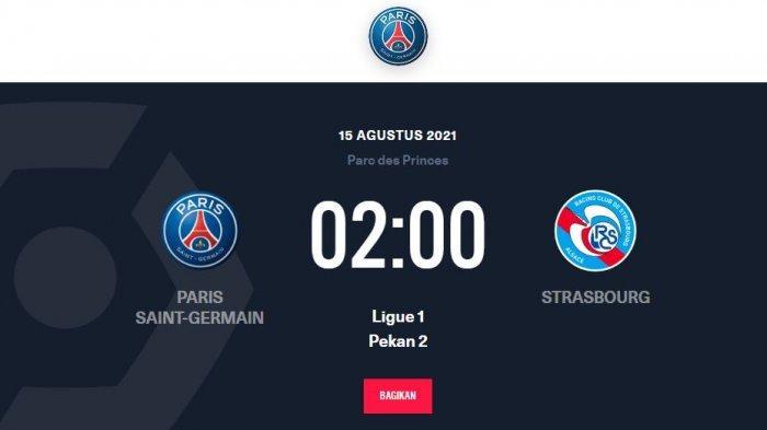 Jadwal Ligue 1 PSG vs Stasbourg, Apakah Lionel Messi Langsung Main?