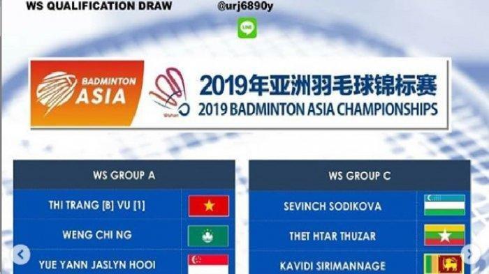 Jadwal Live Streaming dan Hasil Drawing Badminton Asia Championships 2019, Marcus/Kevin Main