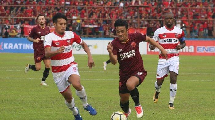 Nonton Streaming Indosiar Liga 1 2019 Madura United vs PSM Makassar