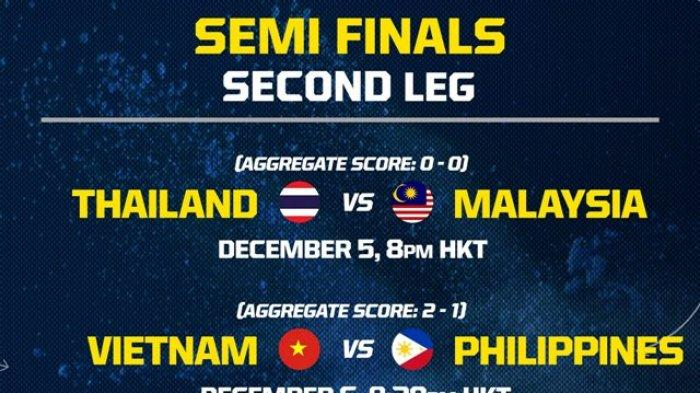 Link Live Streaming Inews TV Semifinal Piala AFF 2018 Vietnam vs Filipina - Kick Off Pukul 19.00 WIB