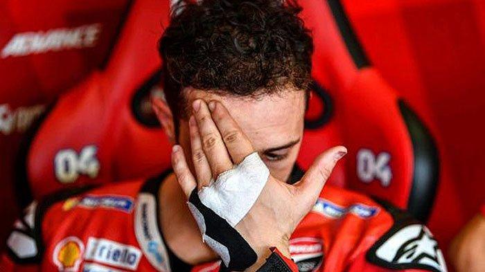 Andrea Dovizioso saat tes di MotoGP Italia 2019 di sirkuit Misano