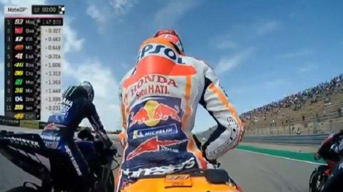 Berita MotoGP Prancis Hari Ini: Gantian Marc Marquez Bikin Kejutan di FP3, Valentino Rossi Masuk Q2