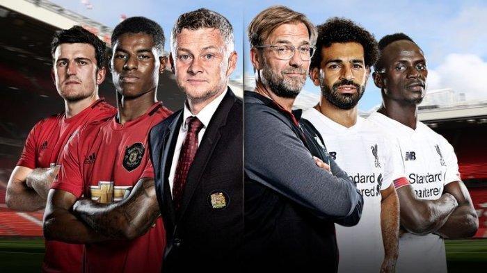 LIGA INGGRIS: Jadwal MU Malam Ini hingga Prediksi WhoScored Man Utd vs Liverpool