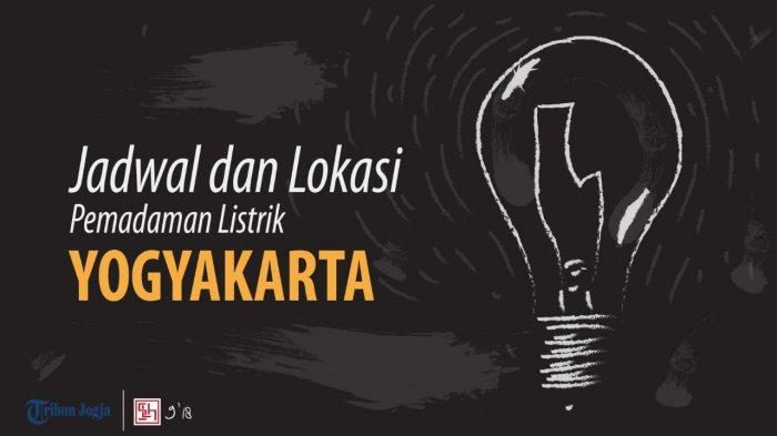 Informasi Pemadaman Listrik DI Yogyakarta pada Sabtu 14 November 2020
