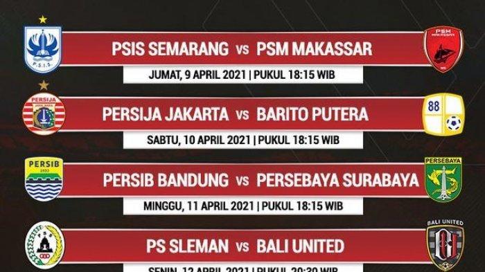 Jadwal Pertandingan Perempat Final Piala Menpora 2021, Mulai Jumat 9 April Besok Malam