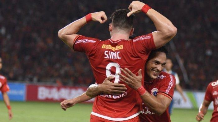LINK Live Streaming INDOSIAR Tayang Persija vs Madura United BABAK II, Update Skor 4-0, Simic Hatrik