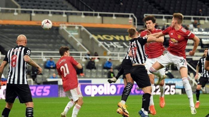 Jadwal Premier League di TV Siaran Langsung Liga Inggris: Prediksi & H2H Man United vs Newcastle