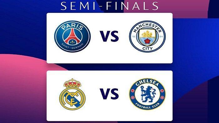 Jadwal Semi Final Liga Champions di Channel TV Partner & Jam Tayang Siaran Live Streaming SCTV