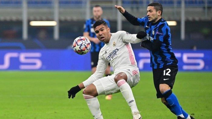 Jadwal Siaran Langsung Liga Champions Inter Milan vs Real Madrid di Channel Tv UEFA