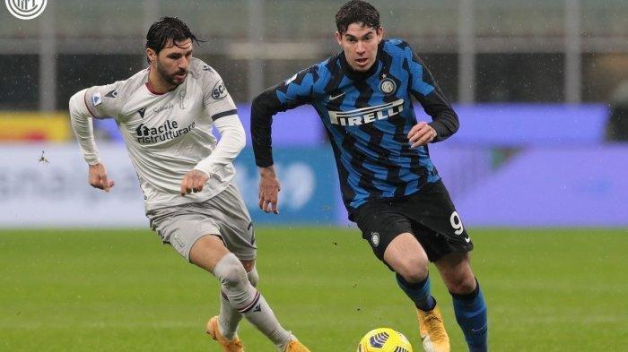 Jadwal Siaran Langsung Liga Italia Inter Milan vs Bologna di Channel TV Live Streaming BeIN SPORTS