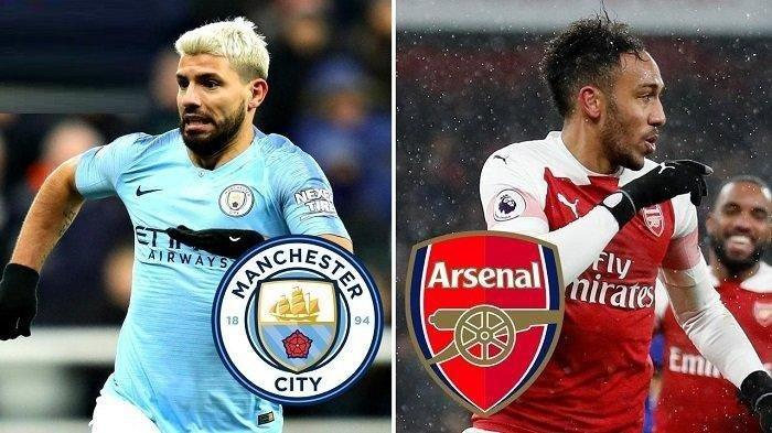 Manchester City vs Arsenal, Liga Inggris