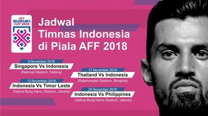 Jadwal Siaran Langsung RCTI Timnas Indonesia - Stefano Lilipaly Pulih, Siap Lawan Singapura