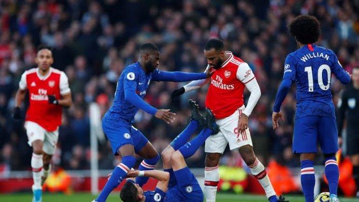 Arsenal vs Chelsea - Prediksi dan LINK Live Streaming Channel TV Final Piala FA