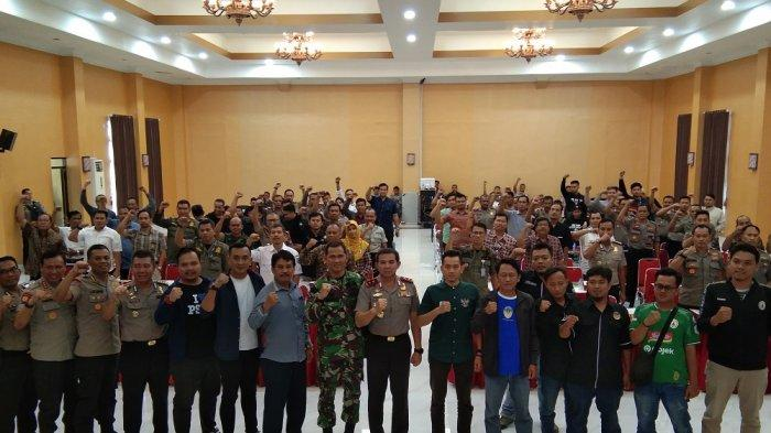 Jaga Kondusifitas, Polda DIY Ajak Praktisi Sepakbola Tekan Pernyataan Sikap