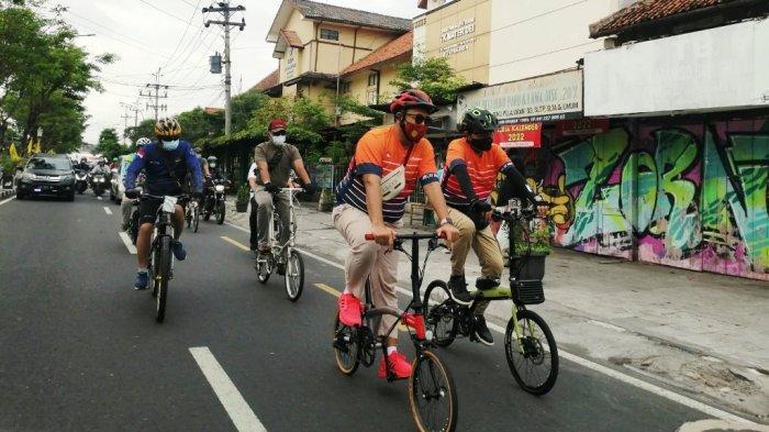 Jajal Rute 'Tilik Njeron Beteng', Wali Kota se-Indonesia Gowes Menyusuri Kota Yogya