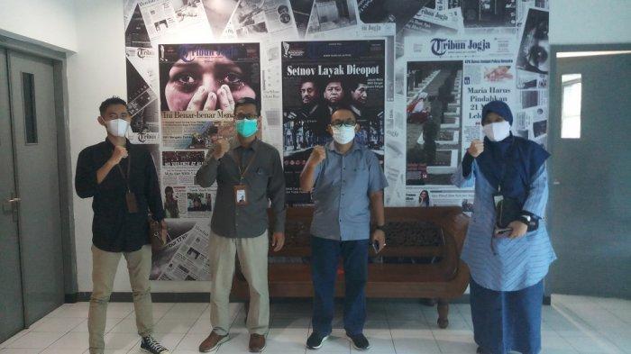 Jalin Silaturahmi, BSI YogyakartaBerkunjung ke Kantor Tribun Jogja